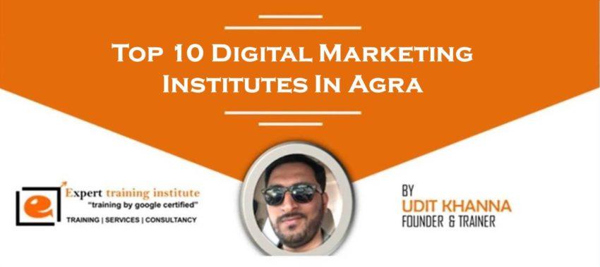 Top 10 Digital Marketing Institutes In Agra