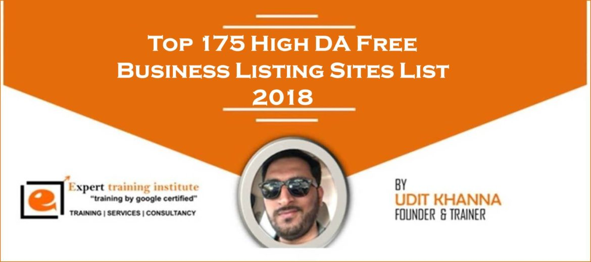 Top 200+ High DA Dofollow Free Business Listing Sites List