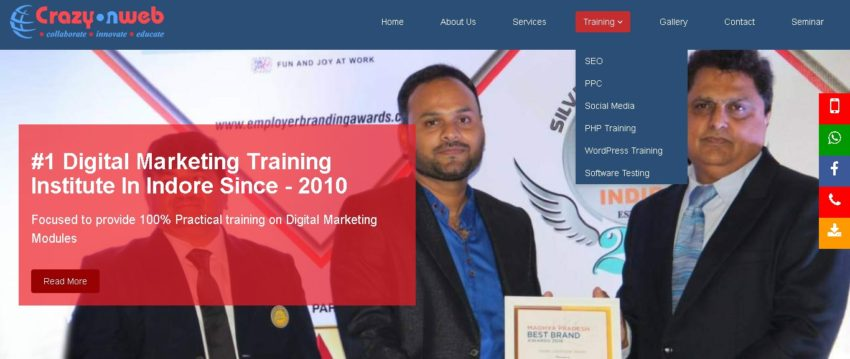 Digital marketing course details MP