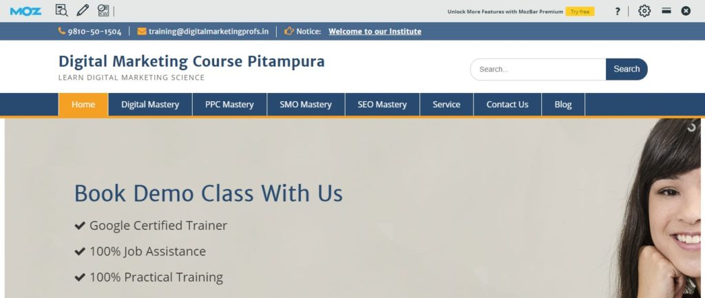 digital marketing institutes in Pitampura