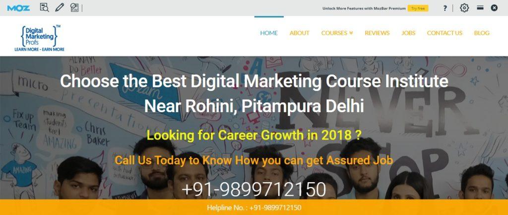 digital marketing training institutes in Pitampura