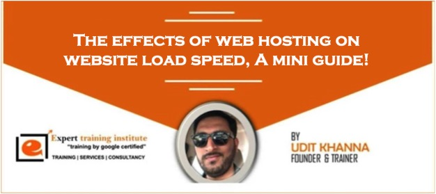 The Effects of Web Hosting on Website Load Speed, A Mini Guide!