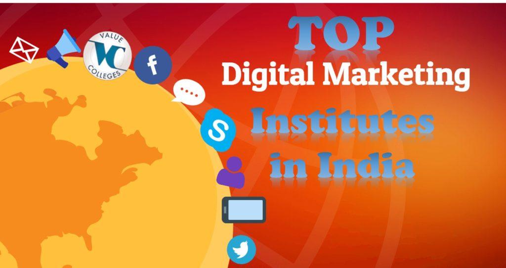 Top digital marketing institutes in India