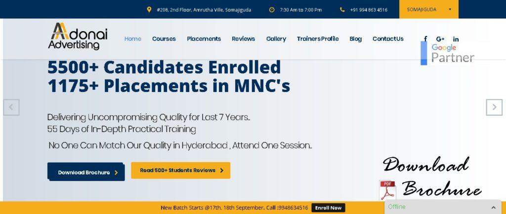 digital marketing course in Hyderabad fees