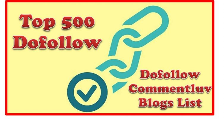 Dofollow commentluv blogs list