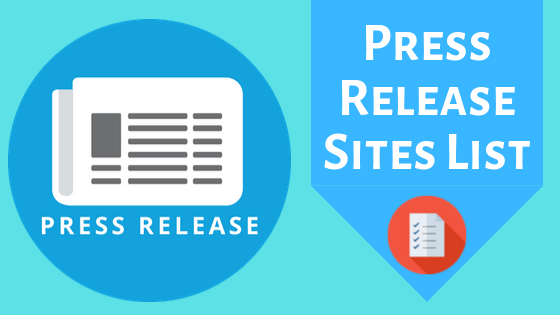 DoFollow Press Release Sites List
