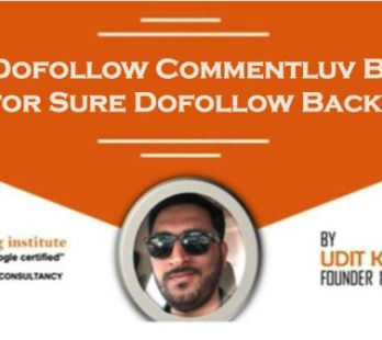 Top 500 Dofollow Commentluv Blogs List for Sure Dofollow Backlinks
