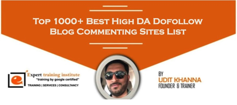High DA 1000 Free Blog Commenting Sites List 2019 [Dofollow and Updated]