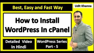 How to Install WordPress in cPanel 2019 | WordPress Installation