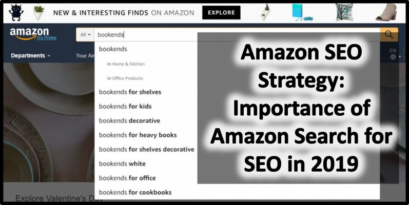 Amazon SEO Strategy Importance of Amazon Search for SEO