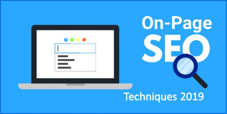 On-page seo techniques 2019