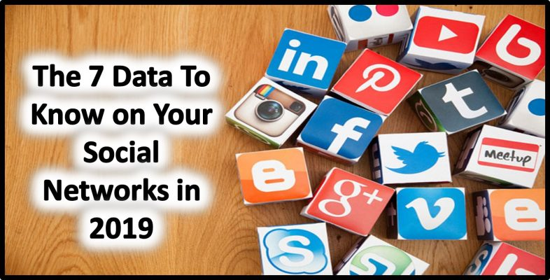 The 7 Data To Know on Your Social Networks in 2019