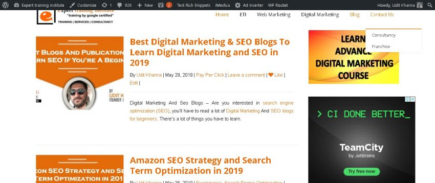 Digital marketing and seo blogs 2019
