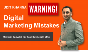 Digital Marketing Mistakes To Avoid For Your Business In 2019