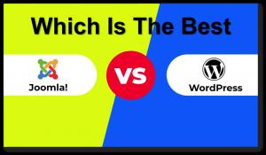 WordPress Vs Joomla – Which Is Best For Bloggers in 2019?