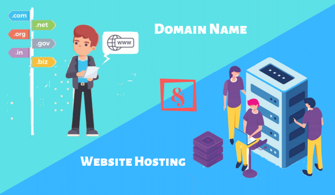 What is Domian Name And Website Hosting
