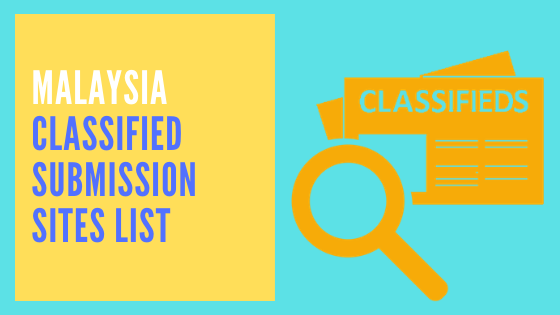 Malaysia Classified Submission Sites List