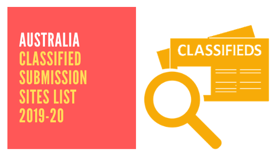 Australia Classified Submission Sites