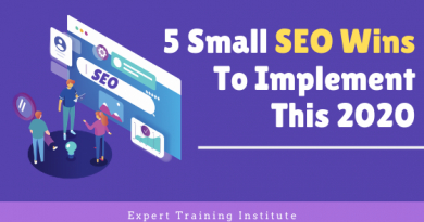 5 Small SEO Wins To Implement This 2020