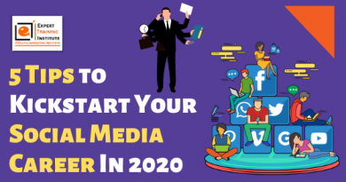 5 Tips to Kickstart Your Social Media Career In 2020