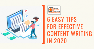 6 Easy Tips For Effective Content Writing in 2020