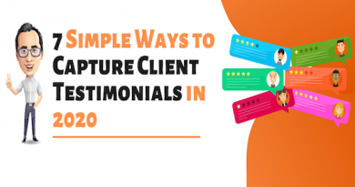 7 Simple Ways to Capture Client Testimonials in 2020