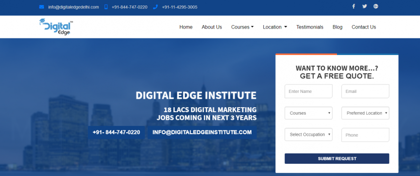 DIGITAL EDGE DELHI - Review