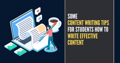 Some Tips for Students How to Write Effective Content