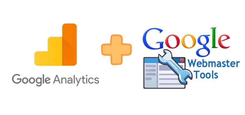 webmaster tools & google analytics